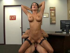 Classic MILF fucking at office