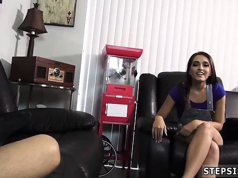 Real Step Sister Cumshot