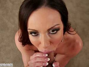 50-year-old porn star Kendra Lust with big tits prefers to suck