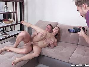 Coed fucked for student loan