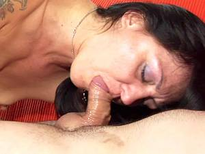 Mature Russian rimming and blowing